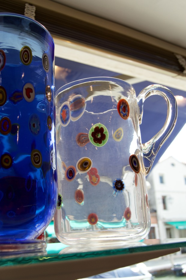 glass in Murano, Italy