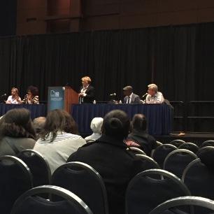 Panel at AWP with Rita Dove, Robert Pinsky, Yusef Komunyakaa