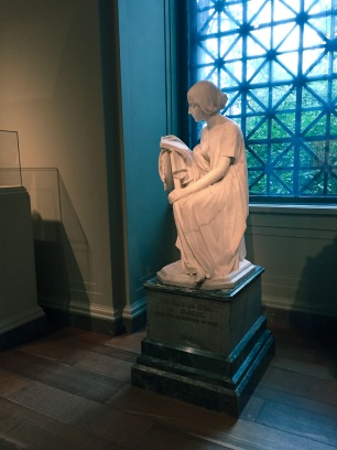 Girl reading, in the National Gallery of Art